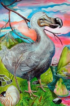 Wesley Younie Artist - Dodo bird extinction approaches