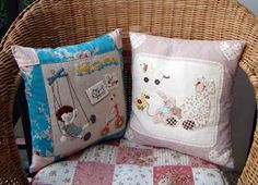 Marmalade: Applique Cushions and purse