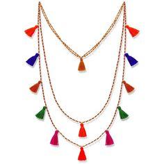 Alexandra Alberta  - Sienna Tassle Neckalce ($55) ❤ liked on Polyvore featuring home, home decor, jewelry storage, jewellery box, jewelry box, jewelry chest, beaded jewelry box and jewelry-box