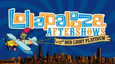 Tickets for the Lollapalooza Aftershows are on sale! Check out your favorite bands here!