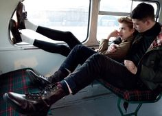 Agyness Deyn goes androgynous for Dr Martens - Telegraph