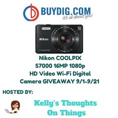 Win a NIKON COOLPix Camera! 9/21 ~ Tales From A Southern Mom