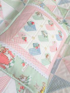 Carried Away Quilting: Bunnies & Cream Blog Tour: Mini Hearts Pillow