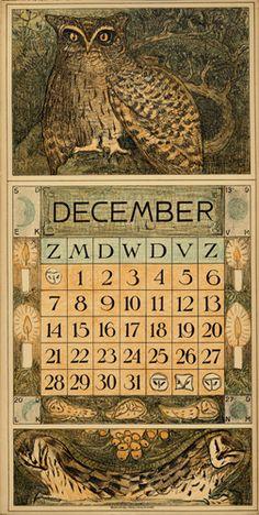 Vintage Cards, Vintage Images, Vintage Posters, Ex Libris, Old Paper, Paper Art, Art Nouveau, Vintage Calendar, Owl Crafts