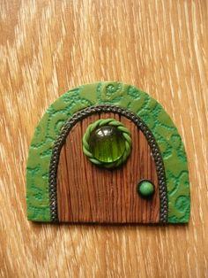 Home sweet gnome Fairy door by artist Frederic Braie Porte de fée en fimo Fairy Doors, Gnomes, Sweet Home, Creations, Artist, Puertas, Bricolage, House Beautiful, Artists