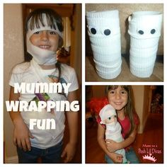 DIY Hallowen: DIY Oh, No! We've Been Mummified!