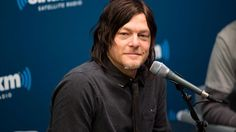 """""""Producers asked me to stop licking people."""" Oh, @wwwbigbaldhead http://blog.siriusxm.com/2015/02/05/giving-the-finger-licking-randos-and-other-things-norman-reedus-does-regularly/…"""