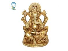 Lord Ganesha Statue in Brass Buy online from India.