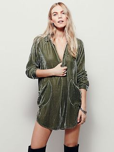 Free People All Night Long Mini Dress at Free People Clothing Boutique