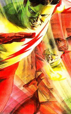 Kid Flash by Alex Ross
