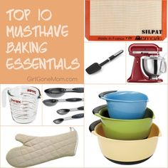 Top 10 Must-Have Baking Essentials Everyone Needs - Great List!