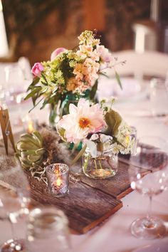 Santa Margarita Ranch Wedding by Kate Harrison Photography is part of Pallet wedding - wood Box Centerpiece Mercury Glass Santa Margarita Ranch Wedding by Kate Harrison Photography Wood Box Centerpiece, Wedding Centerpieces, Wedding Decorations, Table Decorations, Round Table Centerpieces, Table Arrangements, Wedding Tables, Wedding Receptions, Floral Centerpieces