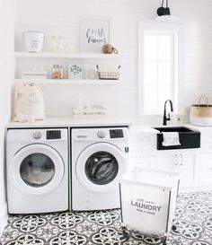 tile laundry room