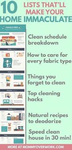Free Printable Cleaning Flow Chart Pinterest Free