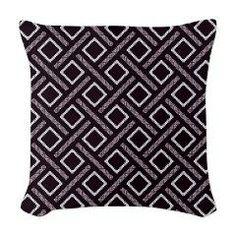 Kuba Tribal Pattern Woven Throw Pillow> Throw Pillows> Custom Design Store