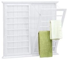 Madison Wall-Mounted Laundry Drying Rack - traditional - Dryer Racks - Home Decorators Collection