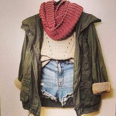 Army Jacket... NEED! Overall Cool Outfit