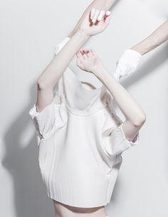 Melitta Baumeister: Graduation Collection - Thisispaper Magazine. minimal, sportswear, minimalist, minimalism, womenswear, utility