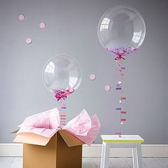 Confetti Filled Balloon - best gifts under £50