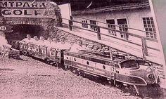 Amusement Park Train.
