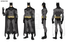 YOUNG JUSTICE: Batman by *philbourassa on deviantART