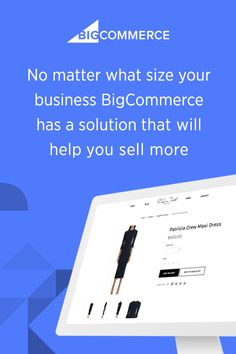 Whether you're a fast-growing brand or established business, BigCommerce lets you increase sales and improve your bottom line. From an intuitive platform for building a fully responsive online store to advanced marketing and conversion tools, BigCommerce has the solution for you. #BigCommerce