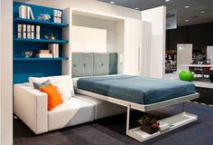 Шкаф-кровать с угловым диваном «Леруа»