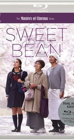 Directed by Naomi Kawase.  With Kirin Kiki, Masatoshi Nagase, Kyara Uchida, Miki Mizuno. The manager of a pancake stall finds himself confronted with an odd but sympathetic elderly woman looking for work. A taste of her homemade bean jelly convinces him to hire her, which starts a relationship that is about much more than just street food.