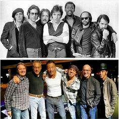 Bruce/E-Street band before and now American Music Awards, Music Like, My Music, Elvis Presley, The Streets Band, Rock And Roll, Blue Soul, The Boss Bruce, Easy Listening Music