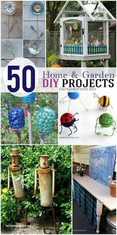 50 Home and Garden DIY Projects | empressofdirt.net