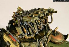 Spikey Bits Warhammer 40k, Fantasy, Conversions and Painted Miniatures: Rail Blazers - Ork Wartrain Conversion