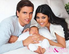 Kourtney Kardashian has baby girl, Penelope Scotland