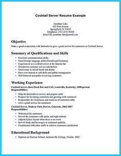 waitress resume template word waitress resume template