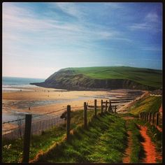 Sunny day in St Bees, Cumbria