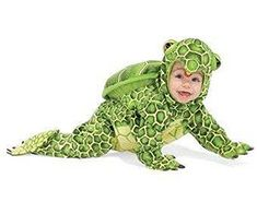 Green Turtle Costume, Costumes for Babies , Kids&Teens Baby Halloween Costumes For Boys, Baby First Halloween, Costumes For Teens, Boy Costumes, Disney Costumes, Children Costumes, Costume Ideas, Baby Turtle Costume, Turtle Costumes