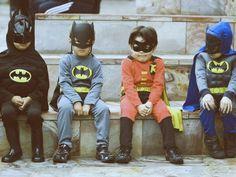 Kids are awesome. Kids dressed like superheroes are even more awesome #kids #superheroes