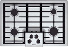 Bosch NGM5055UC 31 500 Series Gas Sealed Burner Style Cooktop Stainless Steel