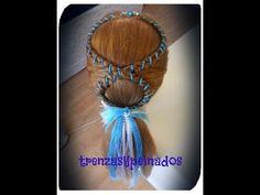 Peinado Para Niña Curso # 12 en Forma de Ocho - Girls Hairstyle, The Figure Eight - YouTube
