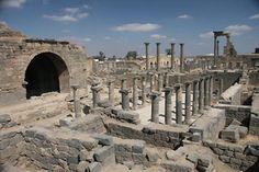 Roman bath in Bosra, Syria.