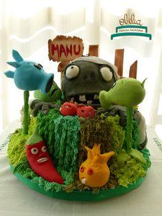 Cupcakes de plantas para defendernos de los zombies!. Cumple de Manu con temática llena de plantas y colores. #obelia #cake #torta #pastel #birthday #cumpleaños #sweet #instacake #pasteleria #laplata #mesadulce #diseñodulce #festejo #sweetdesign #cupcake #cookies #souveniers #popcorn #pochoclos #candybar #celebración #plantasvszombies #juego #plantas #zombies #manuel Pop Corn, Cupcakes, Christmas Ornaments, Holiday Decor, Home Decor, Celebration, Fiesta Party, Pastries, Food Cakes