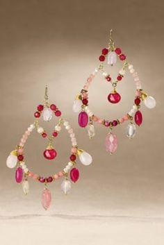 Primrose Earrings - Primrose Teardrop Earrings, Gold Primrose Earrings | Soft Surroundings