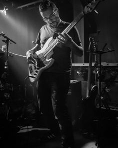 Yann from @senzafineband Monster #musician. #bassplayer  #musicphotography #montreal #joepache_co
