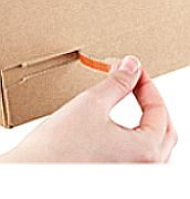 Tear open strip for fast and easy opening Online Shops, Box, Travel Inspiration, Easy, Palette, Inventions, Snare Drum, Pallets