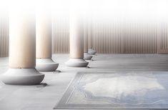 Oread I, Nephele Collection by Ed Ng & Terence Ngan #EdNg #Terence Ngan #ABConcept #Architect #Lifestyle #Texture #Modern #City #Interior #Luxury #Weft #Blue #Landscape #Bespoke #Rug #Carpet #Tapis #Design #InteriorDesign #Deco #Art #Bespoke #Custom #Unique #HandTuft #HandMade #Artisans #RugsCreatedByUs #TaiPing #HouseOfTaiPing