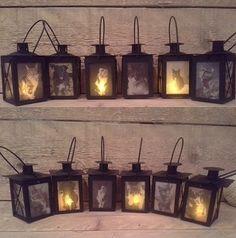 Kleine lantaarn met eigen foto