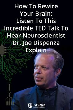 To Rewire Your Brain: Neuroscientist Dr. Joe Dispenza Explains [TED TALK] How To Rewire Your Brain: Neuroscientist Dr. Joe Dispenza Explains The Incredible Science Behind NeuroplasticityTED TED may refer to: Joe Dispenza, Mental Training, Budget Planer, E Mc2, Qi Gong, Psychology Facts, Psychology Experiments, Color Psychology, Health Psychology
