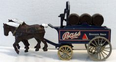 Lledo Days Gone BASS BREWERY Vintage Horse & Delivery Truck  England  D8 #Lledo #Unknown