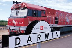 The Ghan Outback tour train: Travel Aboard the Outback Train from Adelaide to Alice Springs, Ayers Rock, Uluru and Darwin; Darwin to Adelaide Darwin Australia, Melbourne Australia, Perth, Brisbane, Sydney, Kakadu National Park, Trains, Diesel, Train Tour