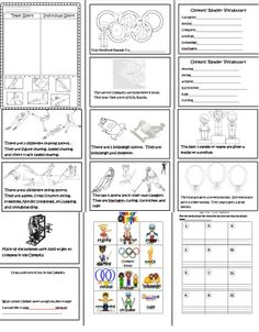 Winter Olympics  http://www.teacherspayteachers.com/Product/Winter-Olympics-1026699