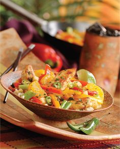 The Twisted Onion » Southwest Chicken Stir-Fry